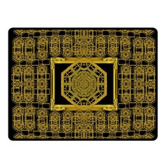 Beautiful Stars Would Be In Gold Frames Fleece Blanket (small) by pepitasart