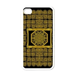 Beautiful Stars Would Be In Gold Frames Apple Iphone 4 Case (white) by pepitasart