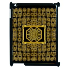 Beautiful Stars Would Be In Gold Frames Apple Ipad 2 Case (black) by pepitasart