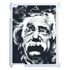 Einstein Albert Einstein Street Art Apple Ipad 2 Case (white) by Celenk