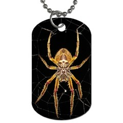 Nsect Macro Spider Colombia Dog Tag (two Sides) by Celenk