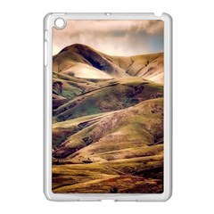 Iceland Mountains Sky Clouds Apple Ipad Mini Case (white) by Celenk