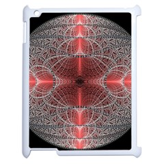 Fractal Diamond Circle Pattern Apple Ipad 2 Case (white) by Celenk