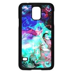 Background Art Abstract Watercolor Samsung Galaxy S5 Case (black) by Celenk