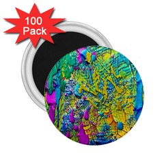 Background Art Abstract Watercolor 2 25  Magnets (100 Pack)  by Celenk
