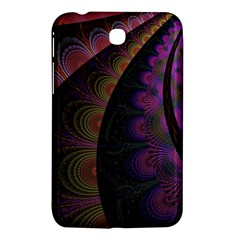 Fractal Colorful Pattern Spiral Samsung Galaxy Tab 3 (7 ) P3200 Hardshell Case  by Celenk