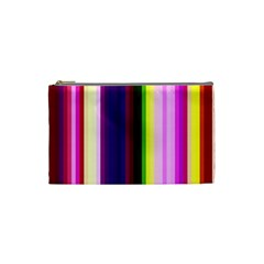 Abstract Background Pattern Textile 2 Cosmetic Bag (small)  by Celenk