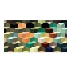 Art Design Color Pattern Creative 3d Satin Wrap by Celenk