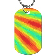 Graphic Kaleidoscope Geometric Dog Tag (two Sides) by Celenk