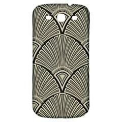Art Nouveau Samsung Galaxy S3 S Iii Classic Hardshell Back Case by 8fugoso