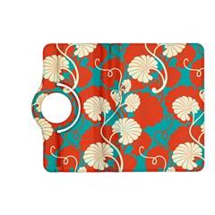 Floral Asian Vintage Pattern Kindle Fire Hd (2013) Flip 360 Case by 8fugoso