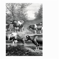 Holstein Fresian Cows Fresian Cows Small Garden Flag (two Sides)
