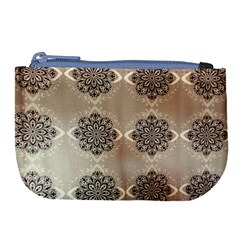Flower Pattern Pattern Art Large Coin Purse by Celenk