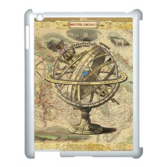 Map Compass Nautical Vintage Apple Ipad 3/4 Case (white) by Celenk