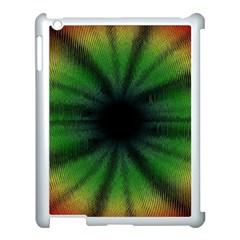 Sunflower Digital Flower Black Hole Apple Ipad 3/4 Case (white) by Celenk