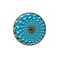 Fractal Art Design Pattern Hat Clip Ball Marker by Celenk