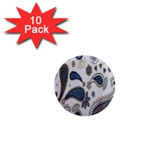 Pattern Embroidery Fabric Sew 1  Mini Magnet (10 Pack)  by Celenk