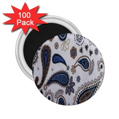 Pattern Embroidery Fabric Sew 2 25  Magnets (100 Pack)  by Celenk