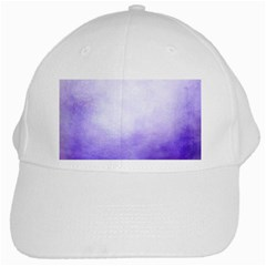 Ombre White Cap by ValentinaDesign