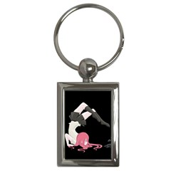 Scorpio Girl Key Chains (rectangle)  by Valentinaart
