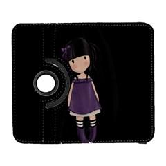 Dolly Girl In Purple Galaxy S3 (flip/folio) by Valentinaart