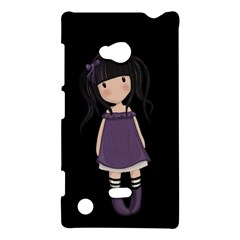 Dolly Girl In Purple Nokia Lumia 720 by Valentinaart