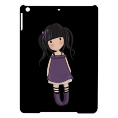 Dolly Girl In Purple Ipad Air Hardshell Cases by Valentinaart
