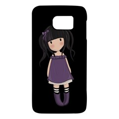 Dolly Girl In Purple Galaxy S6 by Valentinaart
