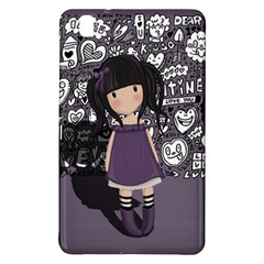 Dolly Girl In Purple Samsung Galaxy Tab Pro 8 4 Hardshell Case by Valentinaart