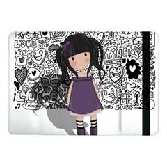 Dolly Girl In Purple Samsung Galaxy Tab Pro 10 1  Flip Case by Valentinaart