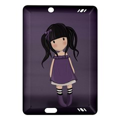 Dolly Girl In Purple Amazon Kindle Fire Hd (2013) Hardshell Case by Valentinaart