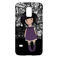 Dolly Girl In Purple Galaxy S5 Mini by Valentinaart