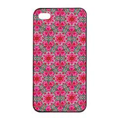 Diamond Star Apple Iphone 4/4s Seamless Case (black) by Cveti