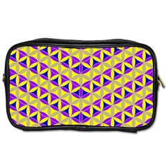 Flower Of Life Pattern 5 Toiletries Bags 2 Side by Cveti