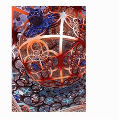 Complexity Chaos Structure Large Garden Flag (two Sides) by Onesevenart
