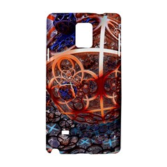 Complexity Chaos Structure Samsung Galaxy Note 4 Hardshell Case by Onesevenart