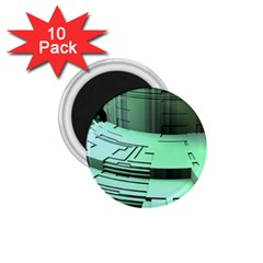 Futuristic Urban Architecture 1 75  Magnets (10 Pack)  by Celenk