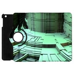 Futuristic Urban Architecture Apple Ipad Mini Flip 360 Case by Celenk