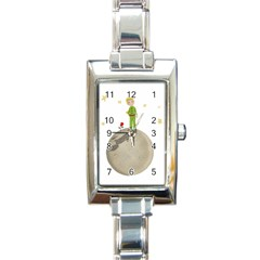 The Little Prince Rectangle Italian Charm Watch by Valentinaart