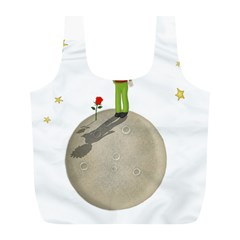 The Little Prince Full Print Recycle Bags (l)  by Valentinaart