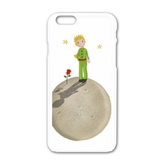 The Little Prince Apple Iphone 6/6s White Enamel Case by Valentinaart