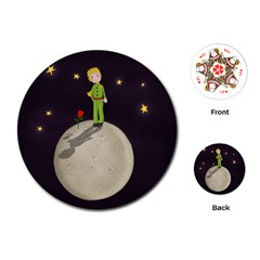 The Little Prince Playing Cards (round)  by Valentinaart