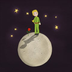 The Little Prince Magic Photo Cubes by Valentinaart