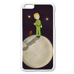The Little Prince Apple Iphone 6 Plus/6s Plus Enamel White Case by Valentinaart