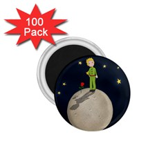 The Little Prince 1 75  Magnets (100 Pack)  by Valentinaart