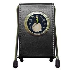 The Little Prince Pen Holder Desk Clocks by Valentinaart