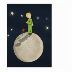 The Little Prince Large Garden Flag (two Sides) by Valentinaart