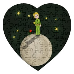 The Little Prince Jigsaw Puzzle (heart) by Valentinaart
