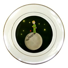 The Little Prince Porcelain Plates by Valentinaart