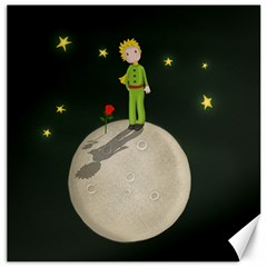 The Little Prince Canvas 16  X 16   by Valentinaart
